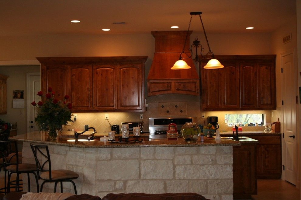 Kurk Homes for a Traditional Kitchen with a Custom and Kitchens by Kurk Homes