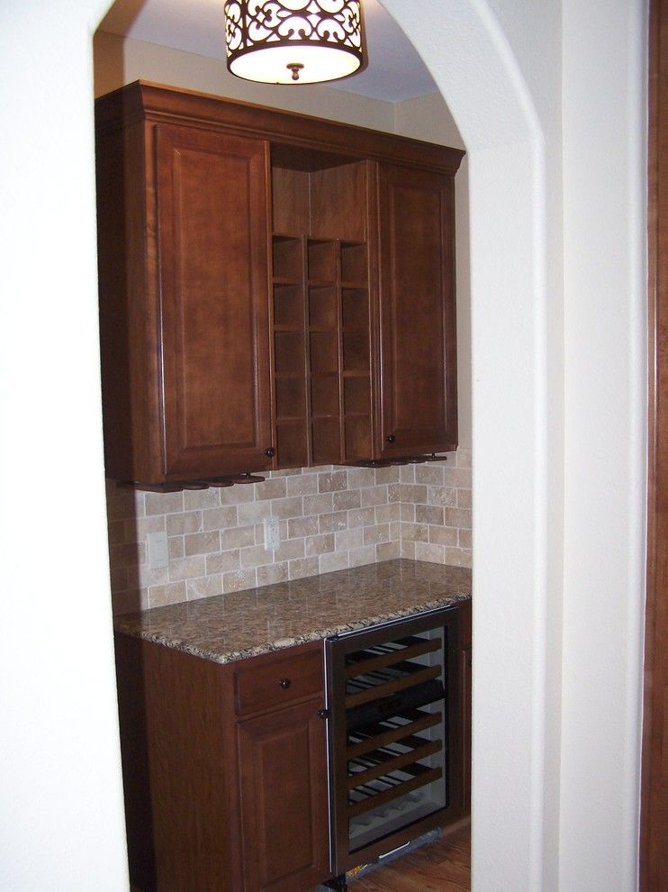 Kurk Homes for a Traditional Kitchen with a Custom Built and Kitchens by Kurk Homes