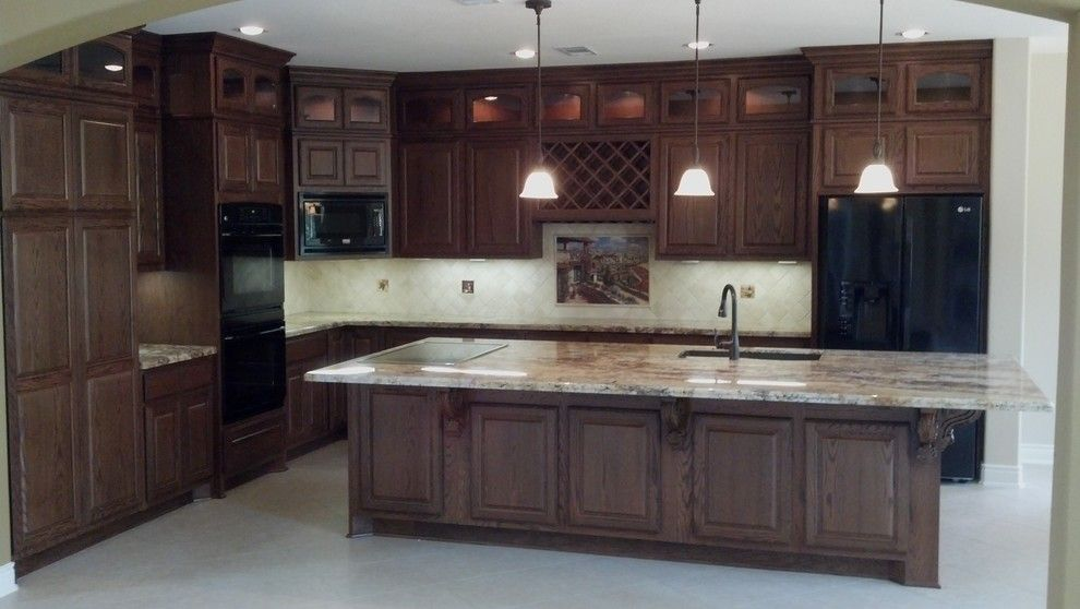 Kurk Homes for a Traditional Kitchen with a Granite and Kitchens by Kurk Homes