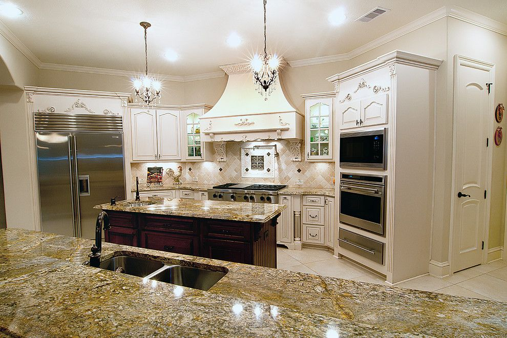 Kurk Homes for a Traditional Kitchen with a Traditional and Kitchens by Kurk Homes