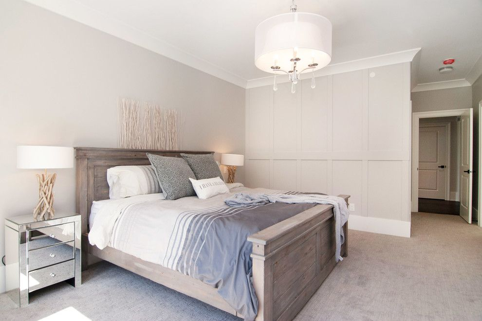 Kuzco for a Contemporary Bedroom with a Master Bedroom and Country Modern Farmhouse by Brett Mochinski Ltd.