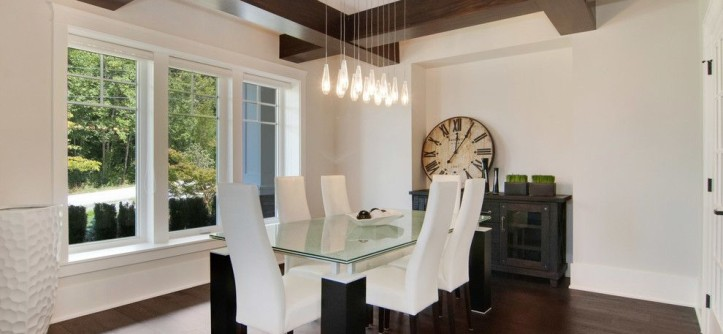 Kuzco for a Contemporary Dining Room with a Kuzco and Country Modern Farmhouse by Brett Mochinski LTD.