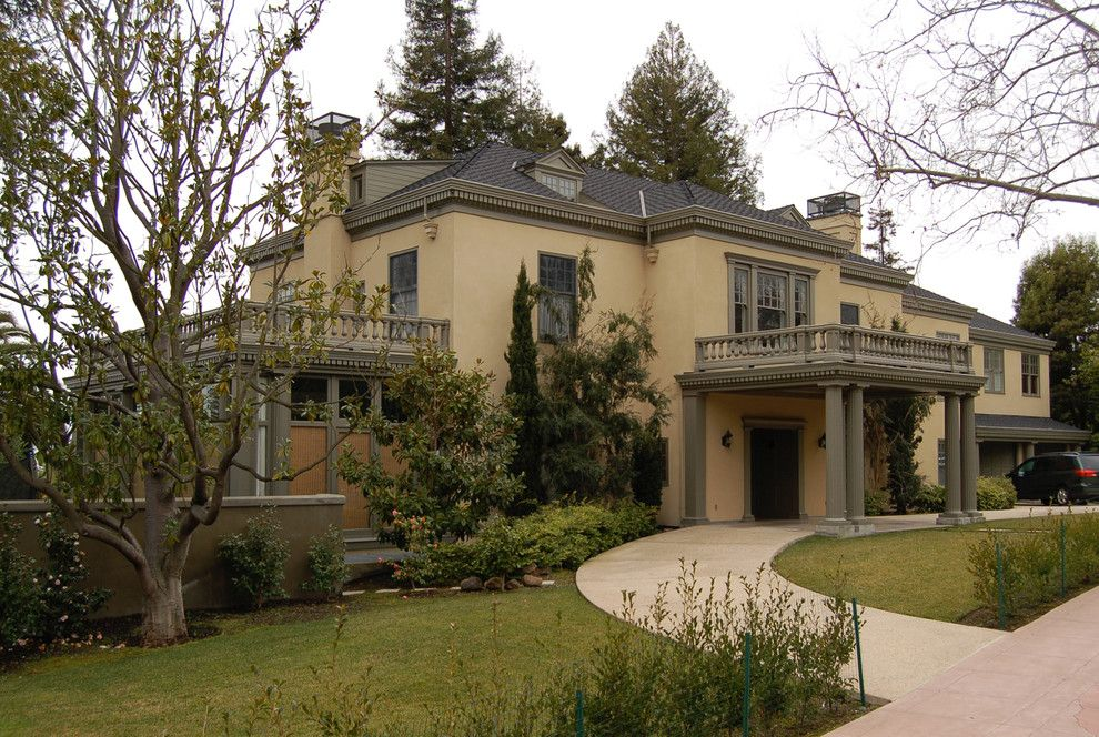 La Habra Stucco for a Traditional Exterior with a Sunroom and Piedmont, Ca, Whole House Remodel by Graff Architects