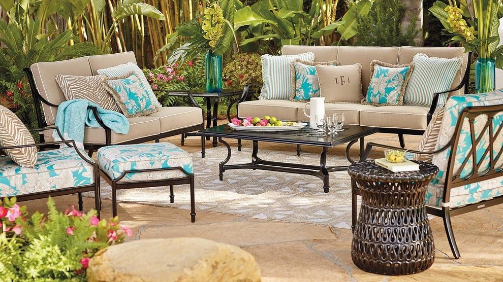 Lacy Bella Designs for a Eclectic Patio with a Eclectic and Outdoor 2015 by Frontgate