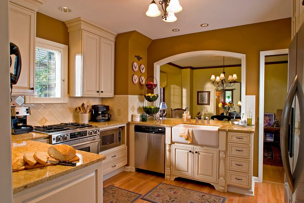 Landis Construction for a Traditional Spaces with a Traditional and Kitchen  Clintonville (4) by R. J. Landis Design & Construction, Inc.