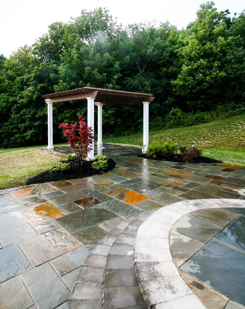 Landscapers Supply for a Craftsman Spaces with a Patio Pavers and Paver Patios, Stone Patios, Retaining Walls | Albany, Troy, Clifton Park, Latham by Pearl Landscaping & Patio Company