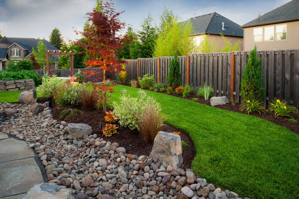Landscaping Ideas for Small Yards for a Traditional Landscape with a Pergolas and Peterson Property by Paradise Restored Landscaping & Exterior Design