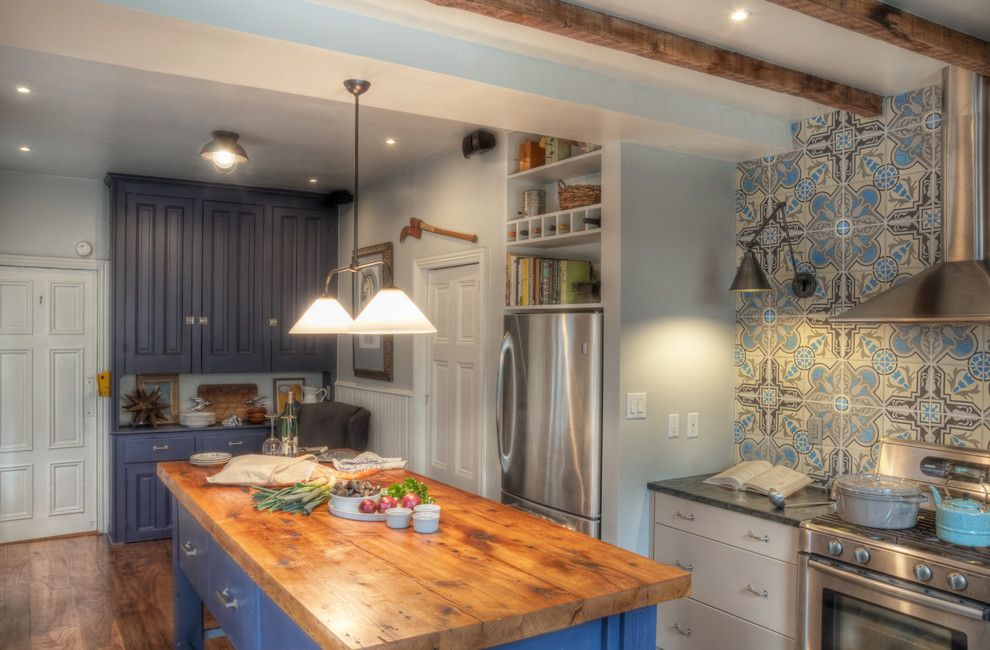 Lansing Building Products for a Traditional Kitchen with a Wall Decor and Kitchen by Buckminster Green Llc