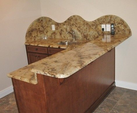Lapidus Granite for a Traditional Basement with a Lapidus Granite and Flynn Basement by the Granite Centre