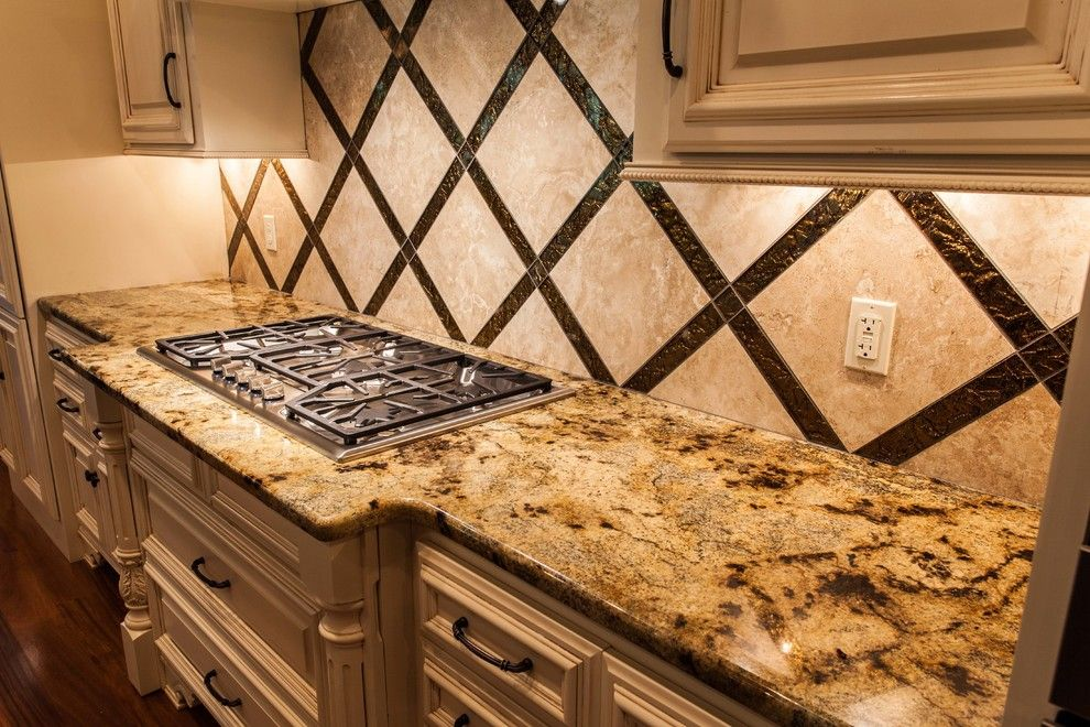 Lapidus Granite for a Transitional Kitchen with a Granite Countertops and Stanley Residence by New Century Counter Tops