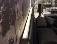 Lazzoni Furniture for a Modern Bedroom with a Under Bed Storage and Showroom Studio by Lazzoni USA Inc