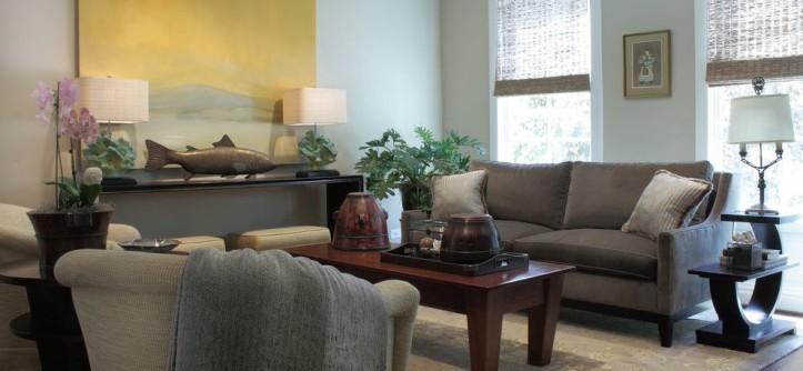 Lee Jofa for a Contemporary Living Room with a Vintage and Contemporary Living Room by seanmichaeldesign.com
