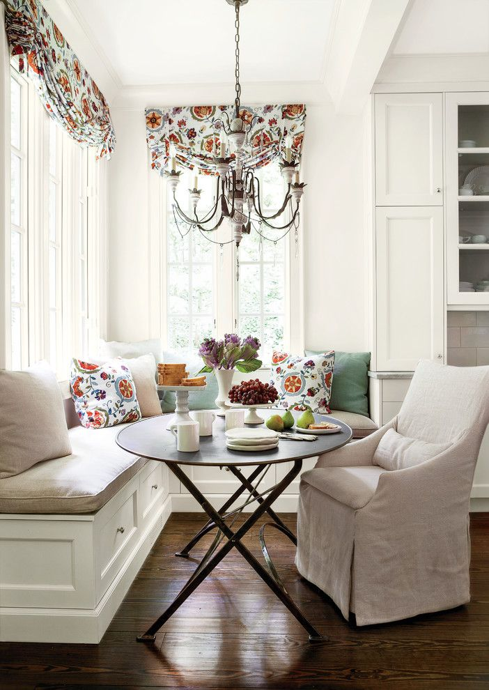 Lee Jofa for a Traditional Kitchen with a Wood Floors and What They Did by Southern Living