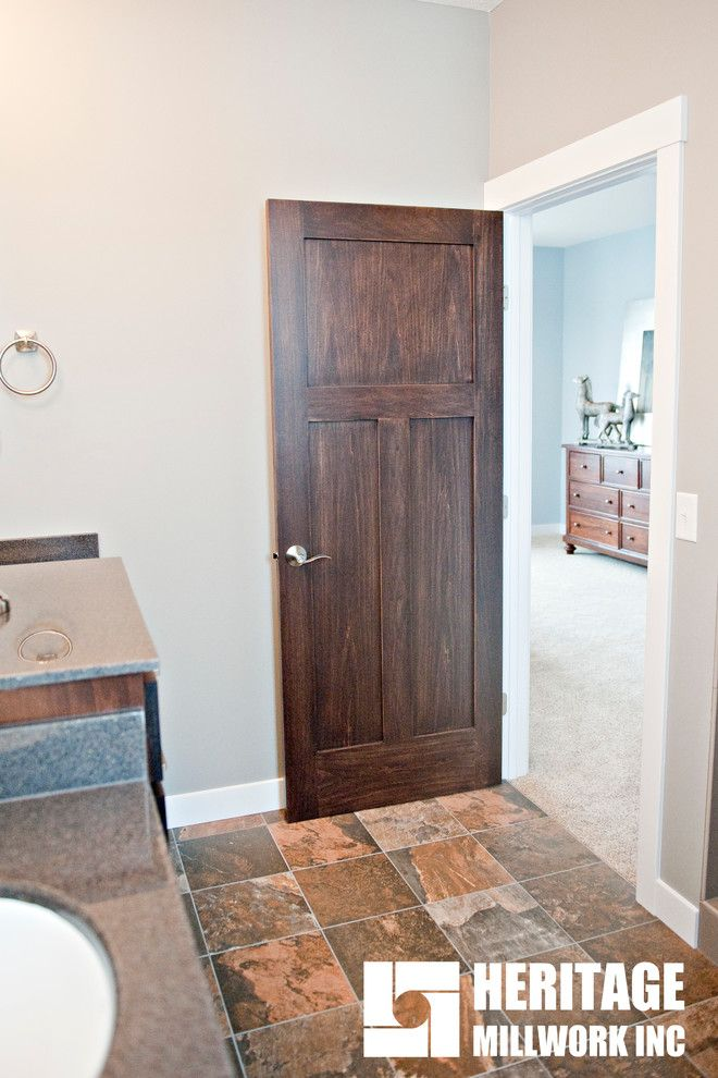 Lemieux Doors for a Contemporary Spaces with a Heritage Millwork Inc and Worth Construction 2014 Spring Parade of Homes by Heritage Millwork Inc