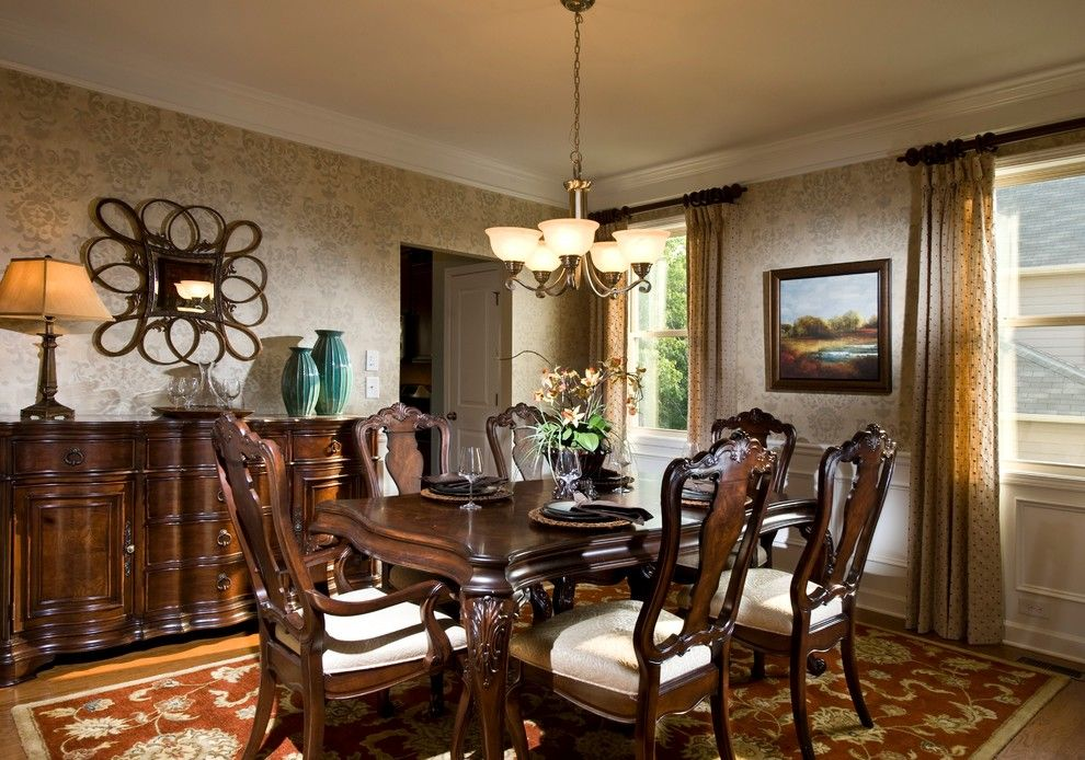 Lennar Atlanta for a Traditional Spaces with a Traditional and Dining Rooms by Lennar Atlanta