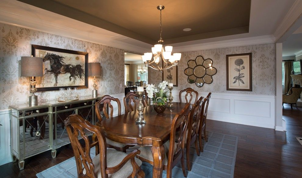 Lennar Atlanta for a Transitional Dining Room with a Transitional and Dining Rooms by Lennar Atlanta