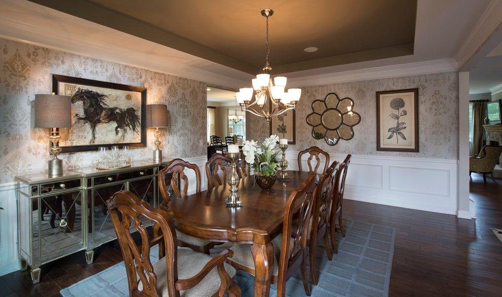 Lennar Atlanta for a Transitional Dining Room with a Transitional and Dining Rooms by Lennar Atlanta