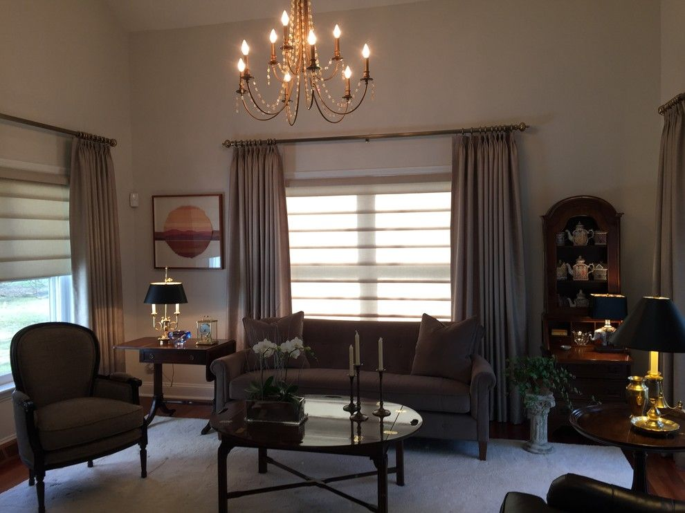 Levin Furniture For A Traditional Family Room With A Window Shades And  Flooring U0026 Interior Design