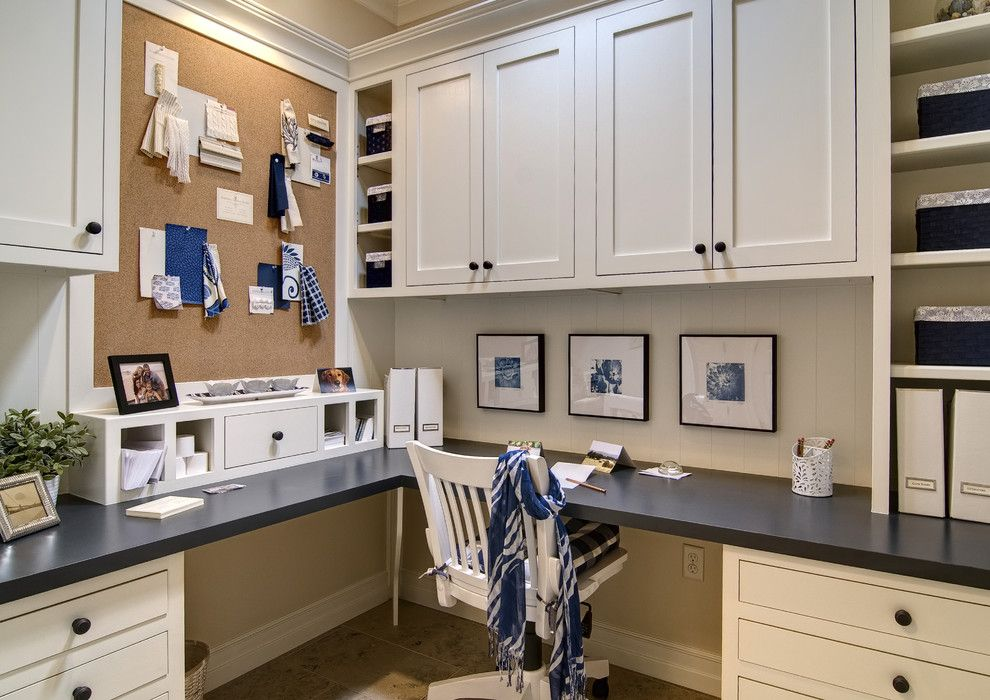 Lexington Overstock for a Traditional Home Office with a Organization and Farinelli Construction Inc by Farinelli Construction Inc