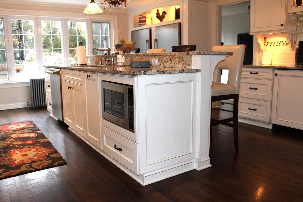 Lexington Overstock for a Traditional Kitchen with a Eat in Kitchen and Foy Kitchen by House of Cline Design