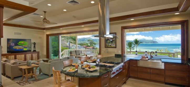 Lg Viatera for a Tropical Kitchen with a Kitchen Cabinets and Kitchen & Bathroom Remodel Hawaii by Ferguson Bath, Kitchen & Lighting Gallery