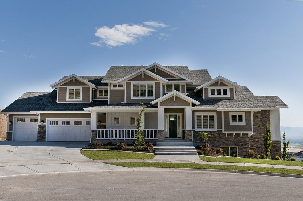 Lgi Homes Reviews for a Craftsman Exterior with a Stone Step and Modified Telluride by Candlelight Homes by Candlelight Homes