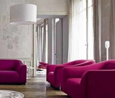 Ligne Roset for a Modern Living Room with a Living Room and Ligne Roset | Stricto Sensu - Didier Gomez by Ligne Roset