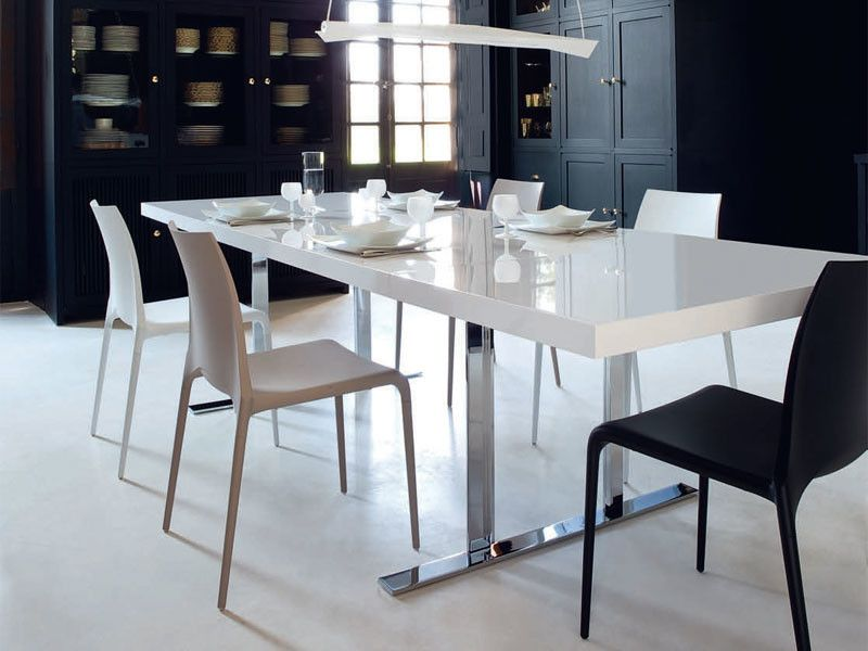 Ligne Roset Nyc for a Contemporary Dining Room with a Contemporary and Cineline Dining Table by Ligne Roset by Ligne Roset Chicago