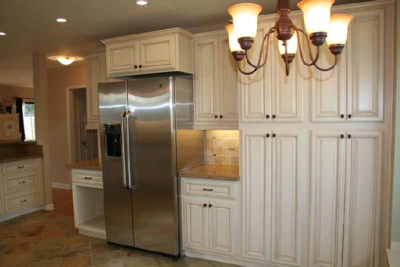 Lily Ann Cabinets for a Modern Spaces with a Antique White Cabinets with Chocolate Gl and Antique White Kitchen Cabinets Home Design by Lily Ann Cabinets