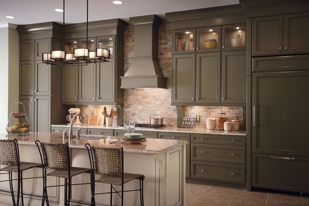 Lily Ann Cabinets for a Traditional Kitchen with a Traditional Kitchen Cabinets Remodel and and Classic Traditional Kitchen Cabinets Style by Lily Ann Cabinets