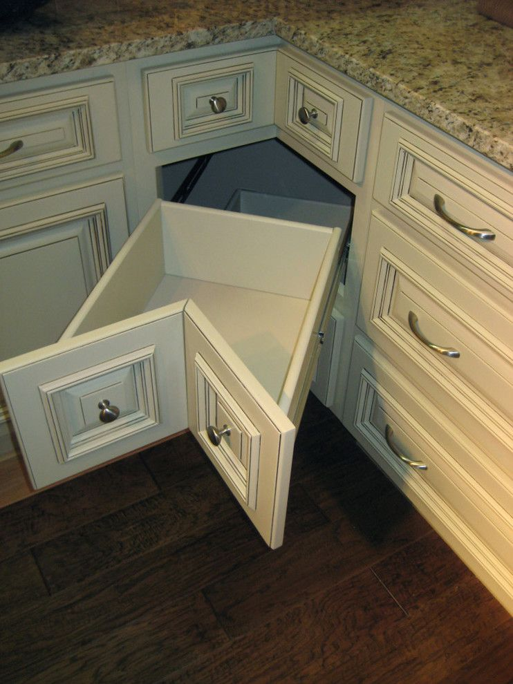 Lily Ann Cabinets for a Traditional Spaces with a Arlington Cream White and Arlington White Kitchen Cabinets Home Design by Lily Ann Cabinets