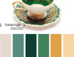 Living Room Color Schemes for a  Spaces with a  and Teacup Color by Design-seeds.com
