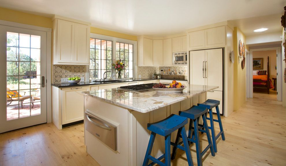 Lockwood Flooring for a Traditional Kitchen with a Classic Kitchen and Historic Remodel   Santa Fe by Prull Custom Builders