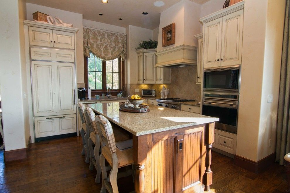 Lorts Furniture for a Traditional Kitchen with a Lorts Barstools and Mountain Cottage by Designing Women