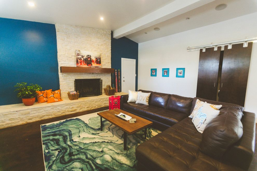 Lotts Furniture for a Contemporary Living Room with a My Houzz and My Houzz: An Urban Farm and Animal Haven in the City by Heather Banks