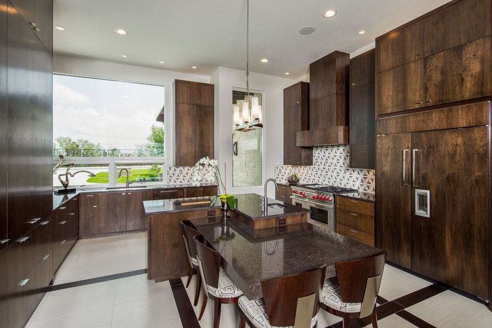 Louis Shanks for a Contemporary Kitchen with a 2015 Parade of Homes and 2015 Parade of Homes by Matt Sitra Custom Homes