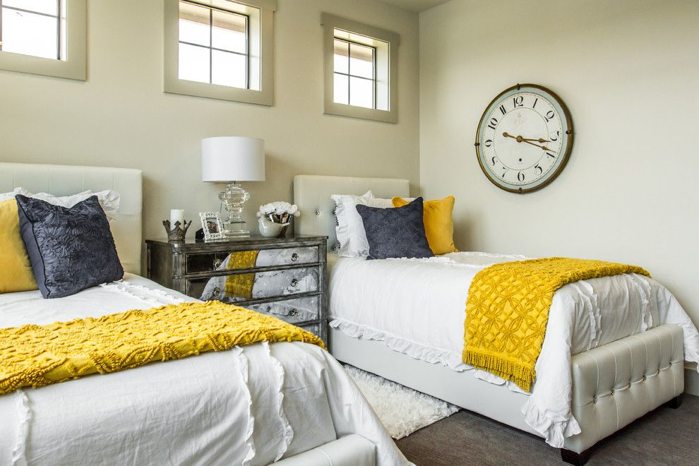 Louis Shanks for a Transitional Bedroom with a Transitional and Hannah's Way by Debbie Rugen Designs