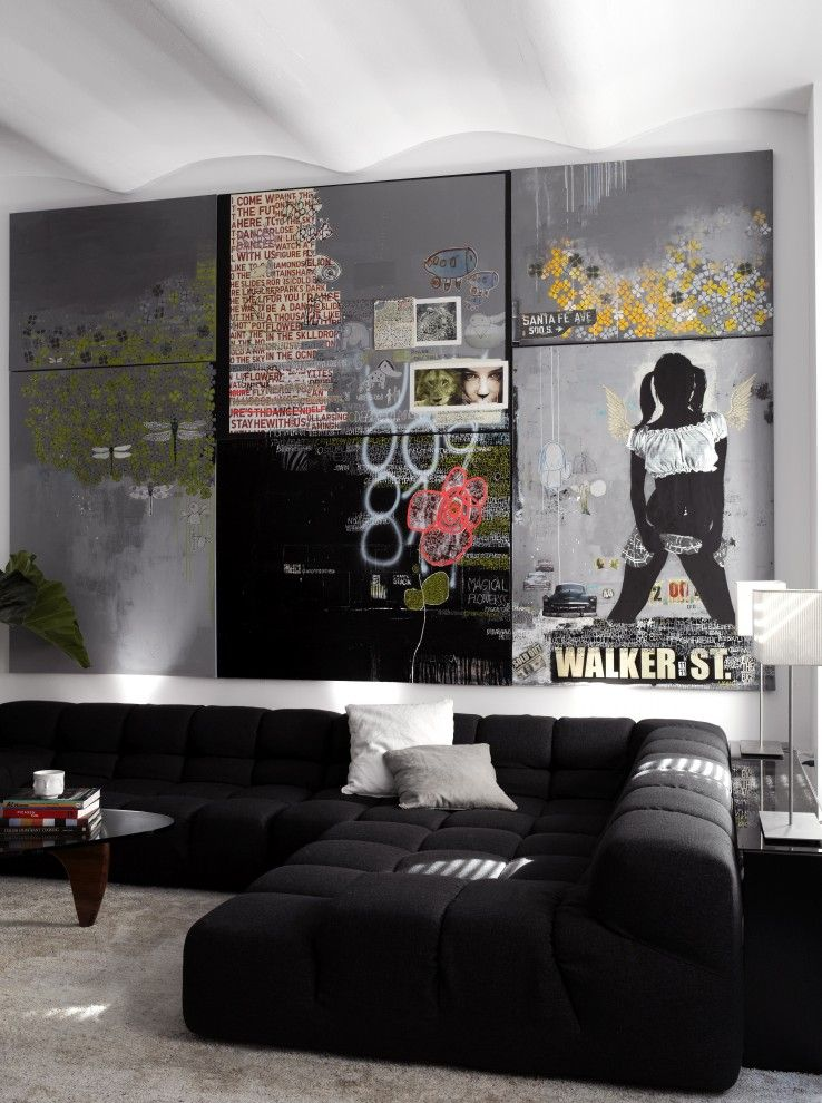Lowes Albany Ny for a Contemporary Living Room with a Art and Tribeca Loft by Schappacherwhite Architecture D.p.c.