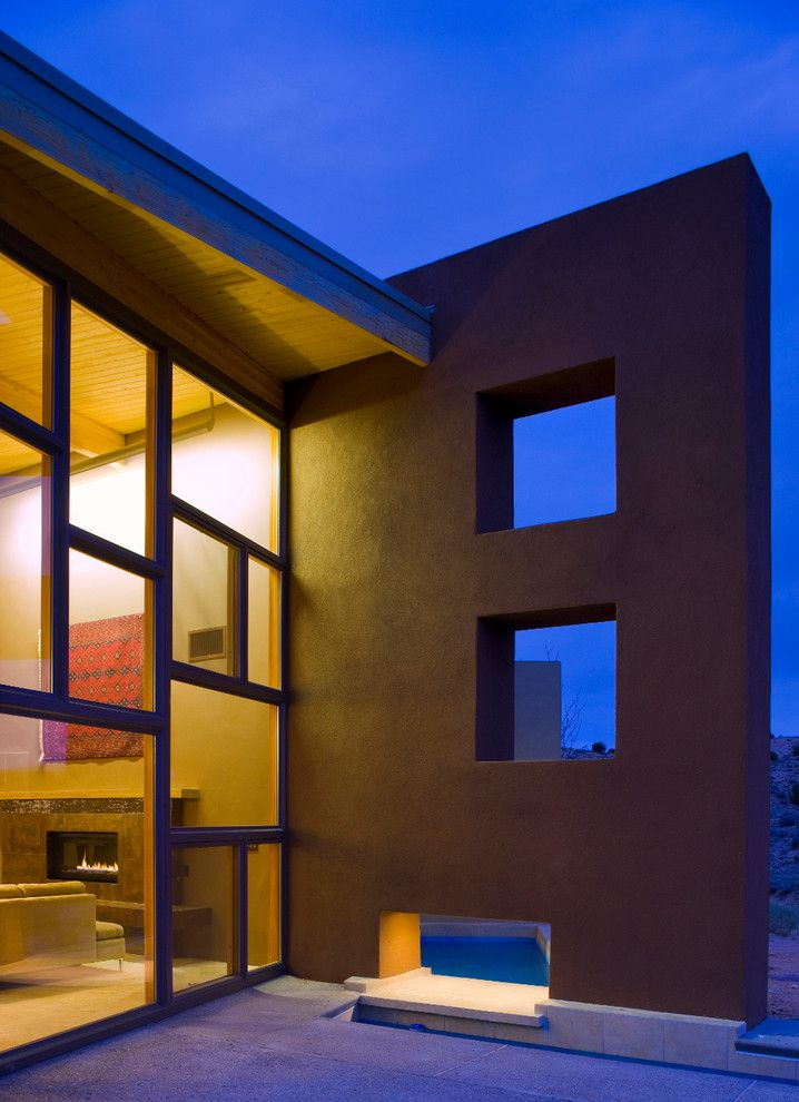 Lowes Albuquerque for a Contemporary Exterior with a Glass Walls and Mariposa Ridge by Environmental Dynamics, Inc.