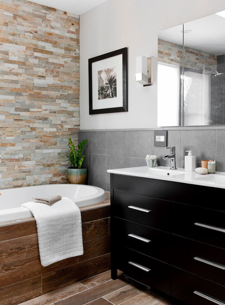 Lowes Bathroom for a  Bathroom with a  and Lowe's Bathroom/laundry Room Makeover by Rikki Snyder