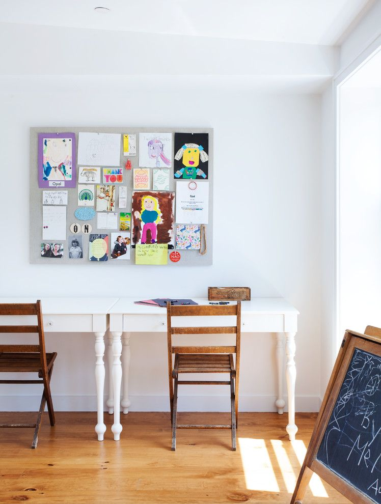 Lowes Brooklyn for a Contemporary Kids with a Shared Desk and Cobble Hill, Brooklyn Row House by Bonaventura Architect