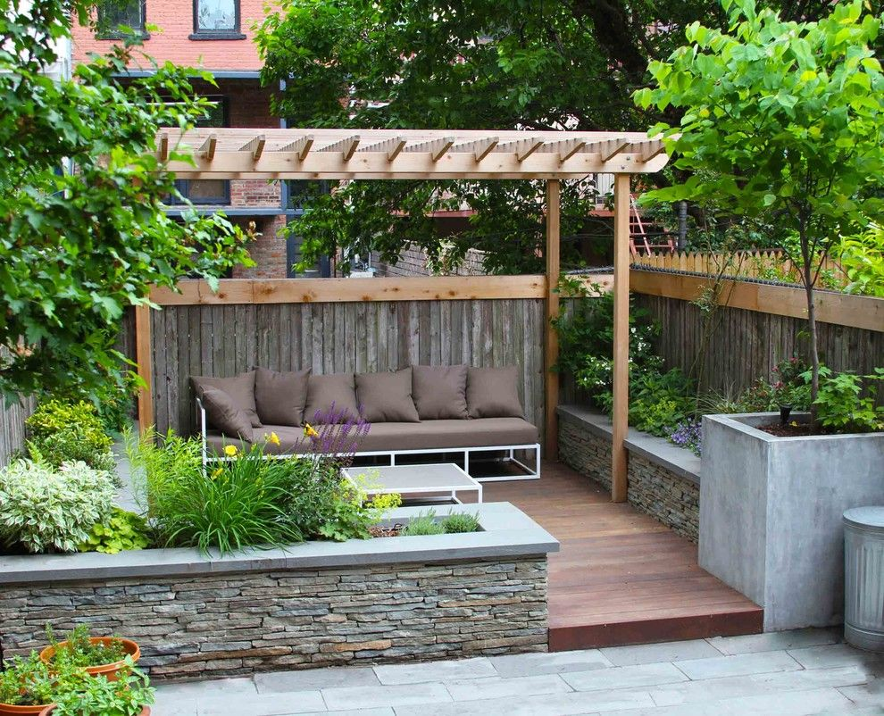 Lowes Brooklyn for a Traditional Deck with a New York Landscape Design and Boerum Hill Garden by Outside Space Nyc Landscape Design
