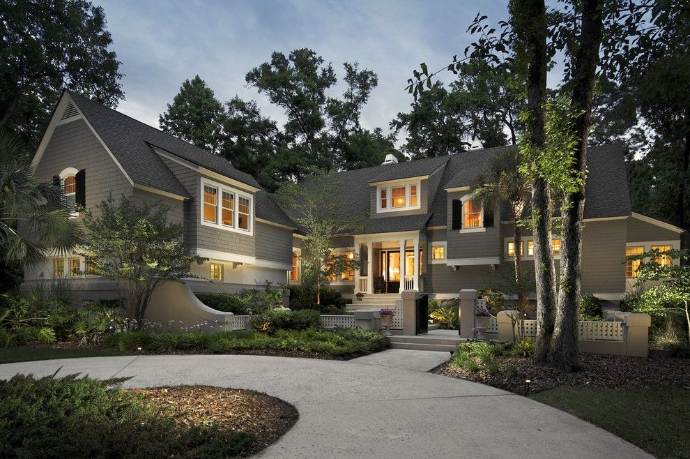 Lowes Charleston Wv for a Traditional Exterior with a Wood Chips and Hilton Head Island Residence by Michael Kelley Photography