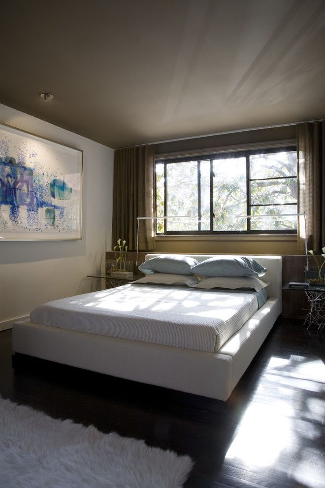 Lowes Chesapeake Va for a Contemporary Bedroom with a Contemporary Bed and Bedroom by Ernesto Santalla Pllc