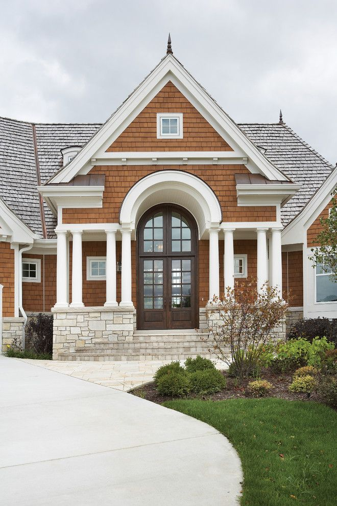 Lowes Chesapeake Va for a  Exterior with a Brown Shinlge and Kolbe Windows & Doors by Kolbe Windows & Doors