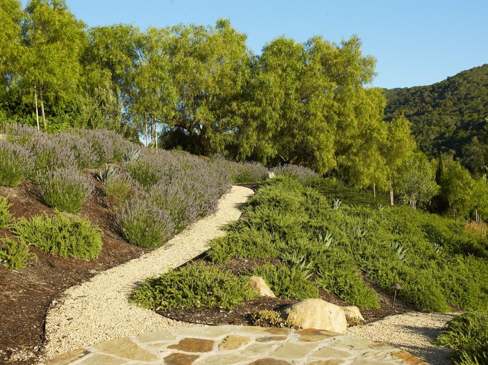 Lowes Chino Hills for a Mediterranean Landscape with a Succulent and Avila Valley Estate by Jeffrey Gordon Smith Landscape Architecture