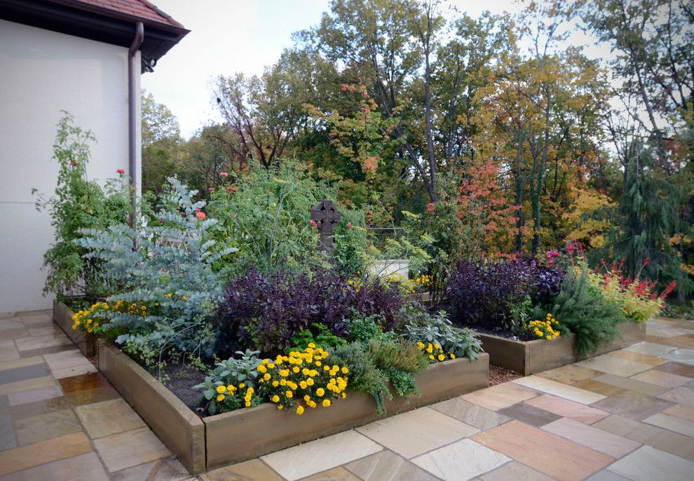 Lowes Cincinnati for a Contemporary Landscape with a Flower Box and Leathers Residence by Drawing Dept