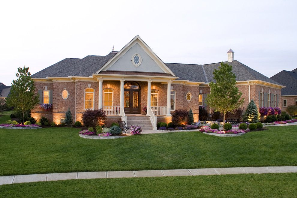 Lowes Cincinnati for a Traditional Exterior with a Curb Appeal and Exterior by Marino Custom Homes, Llc