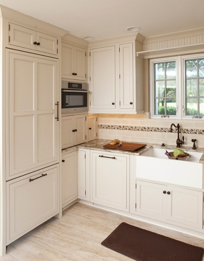 Lowes Cincinnati for a Traditional Kitchen with a Recessed Panel Cabinets and Mariemont Ohio Traditional Kitchen by Howard's Kitchen Studio