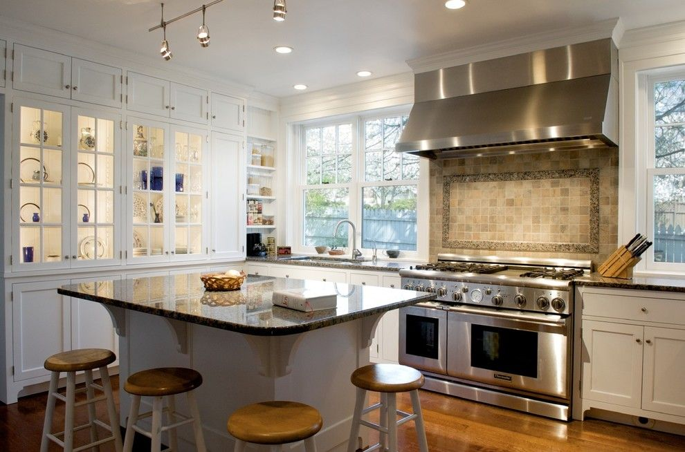 Lowes Cincinnati for a Traditional Kitchen with a White Painted Cabinets and Kitchen by Rwa Architects